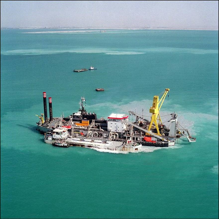 cutter suction dredger loading barge dredging consultancy