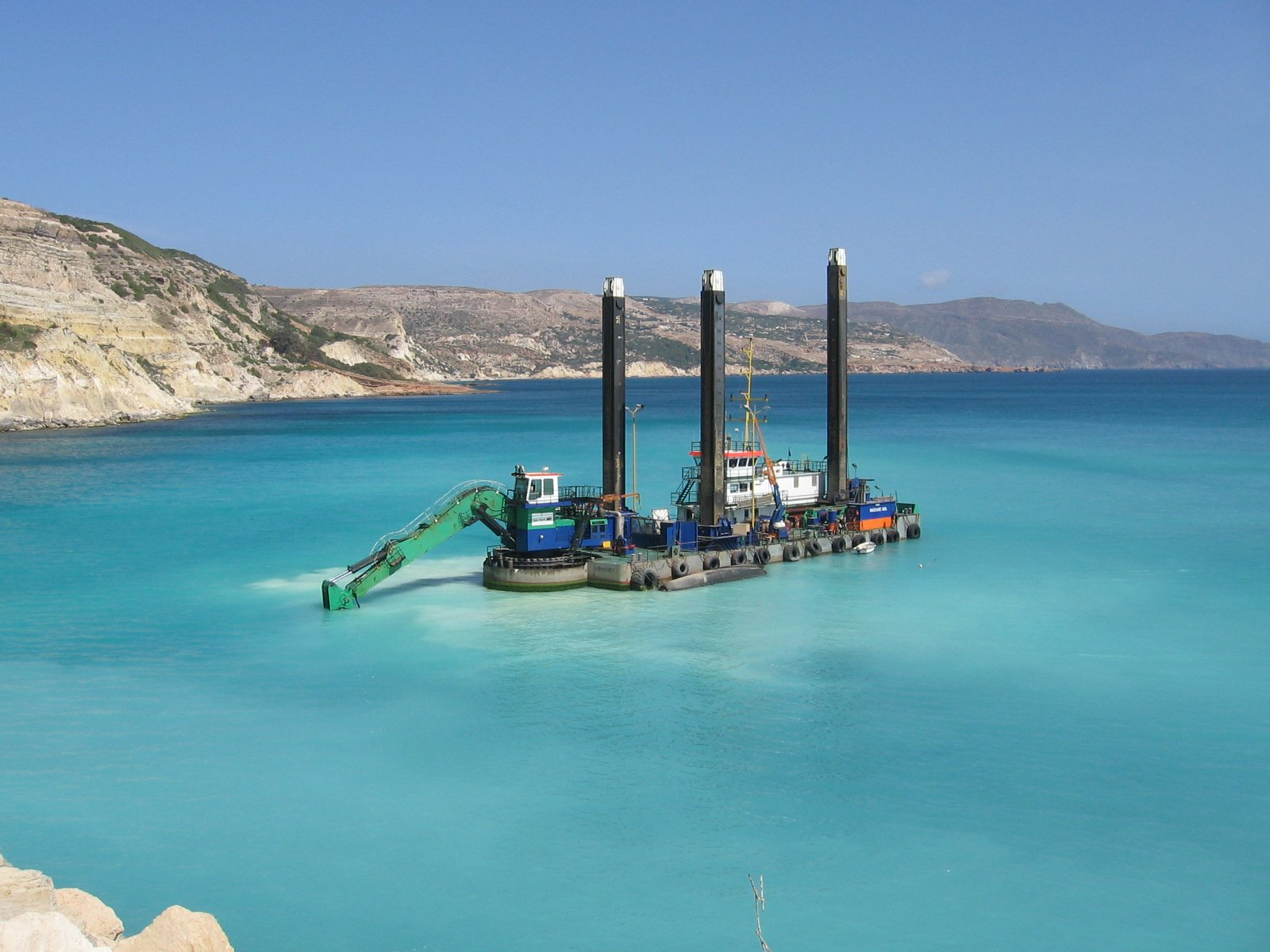backhoe dredging consultancy