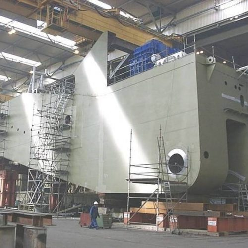 cutter ladder of cutter suction dredger build