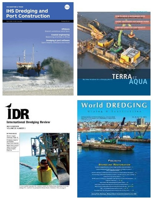 dredging magazines on dredging project dredging equipment dredging services