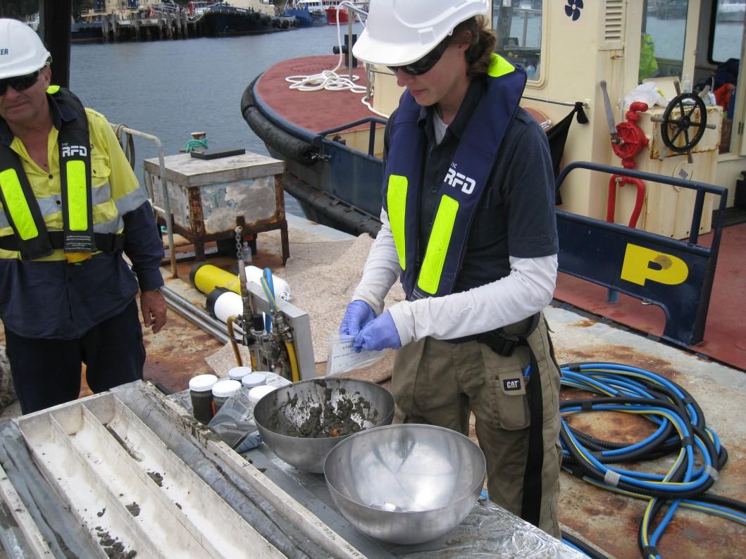 sediment sampeling environmental-site-investigation