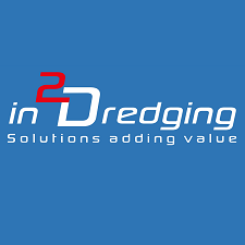 i2D dredging consultancy logo, dredging consultants providing solutions adding values